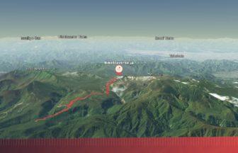 蔵王山サイクリング