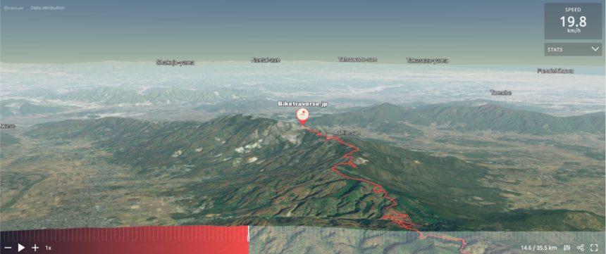 加波山サイクリング