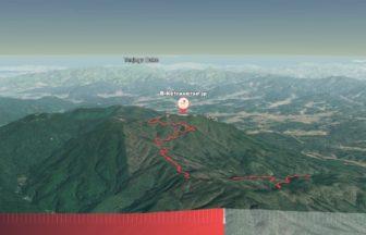華山サイクリング