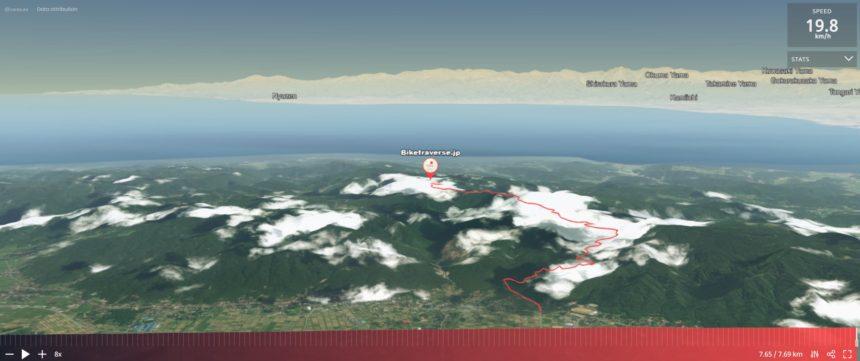 石動山サイクリング