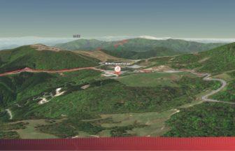 茶臼山高原サイクリング