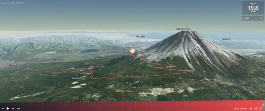 富士スバルラインサイクリング